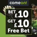 comeon bookmakers free bet offer